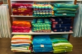 "Assorted beach towels, 38"" x 70"" priced from $34.00 are available in the Gibbons Home Store."